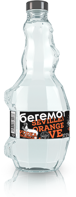 Botella Beremot Naranja | Beremot Vodka